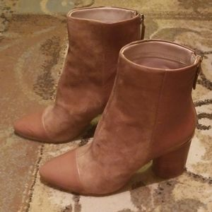 Nine West leather booties - NWT